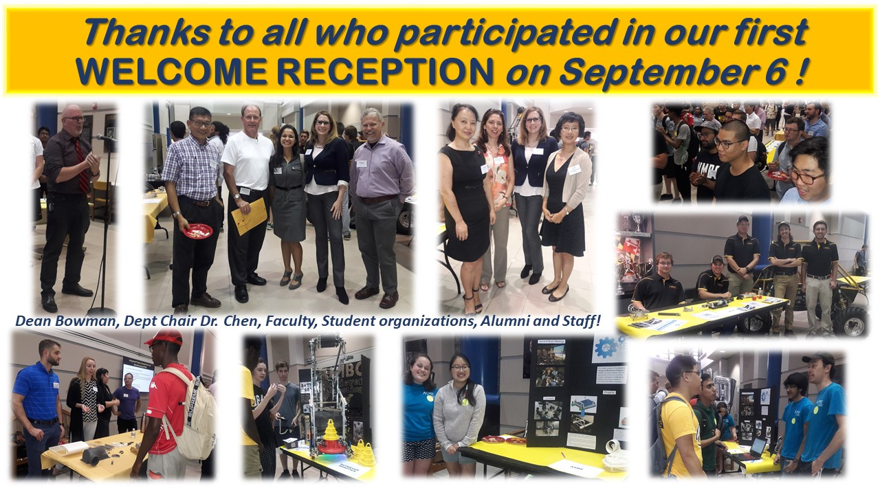 Welcome Reception Fall 2018