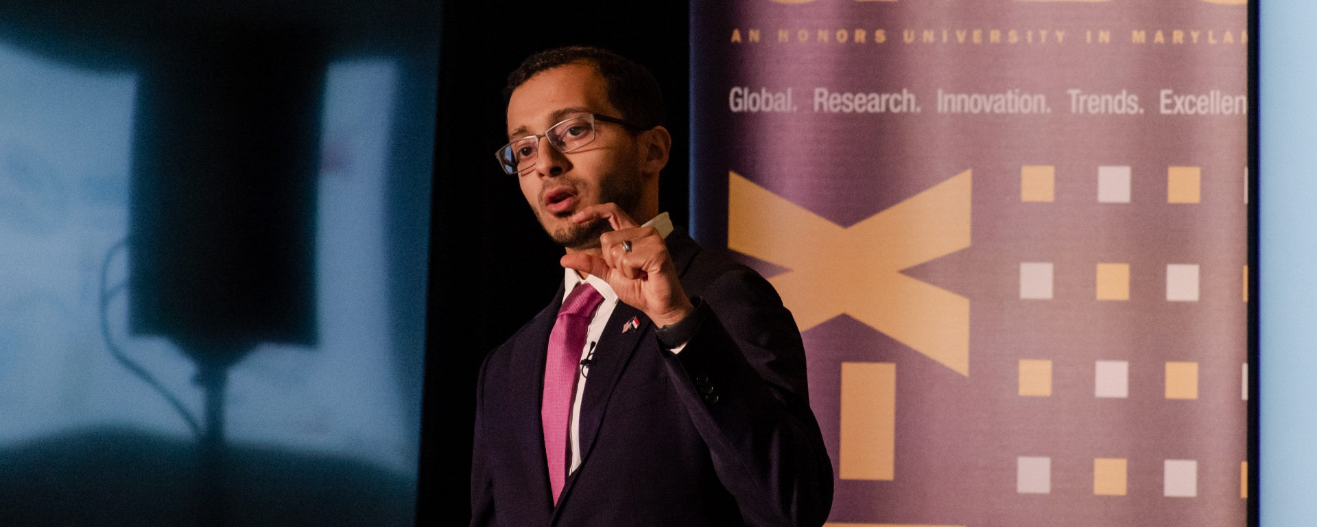 Mustafa Al-Adhami, ME Ph.D. '19, wins national Three-Minute Thesis competition