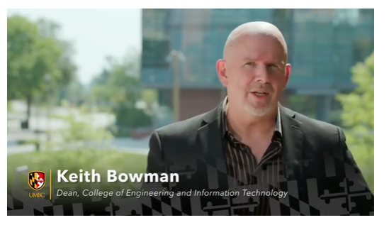 COEIT's Dean, Dr. Keith Bowman, in the new Inclusion Council